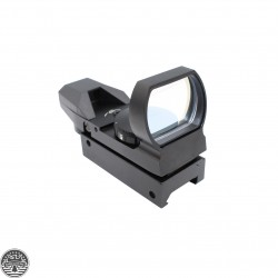 AR-15 4 Reticle Tactical Red&Green Illuminated Dot Sight